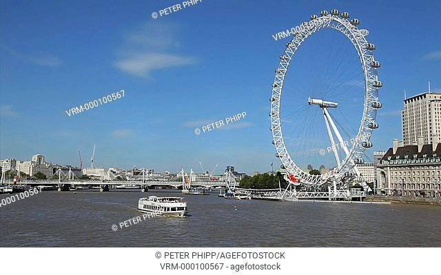 The London Eye and River Thames