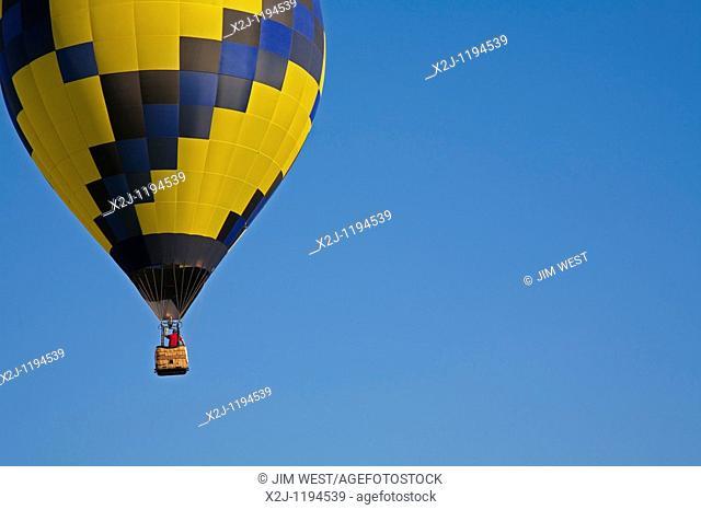 Battle Creek, Michigan - The National Hot Air Balloon Championships