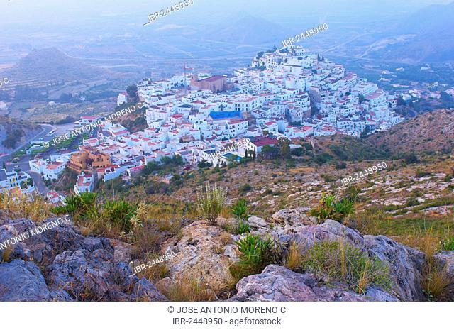Mojacar, historic town centre, Almeria province, Andalusia, Spain, Europe