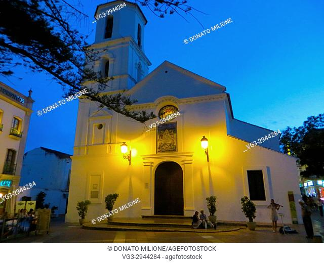 Nerja, Andalusia, Costa del Sol, Spain. Iglesia El Salvador (Church of the Savior)