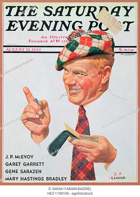 The cover of The Saturday Evening Post for August 31, 1935