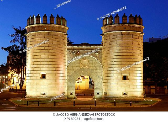 Puerta de Palmas. 15-16th century. Badajoz. Extremadura. Spain