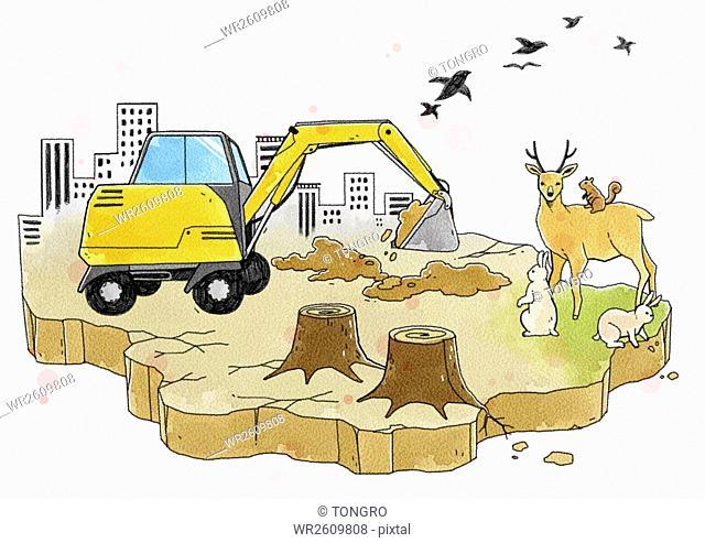 Destruction of environment