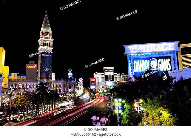 The USA, Las Vegas by night