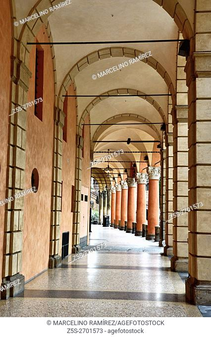 Portico di San Luca. Bologna, Emilia-Romagna, Italy, Europe