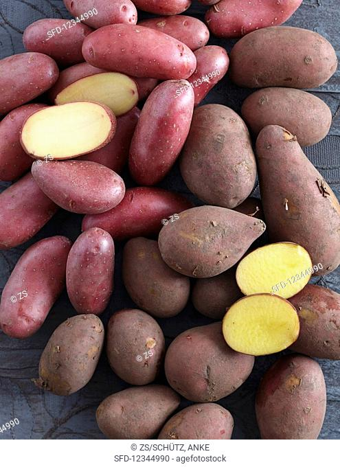 Red-skinned potatoes