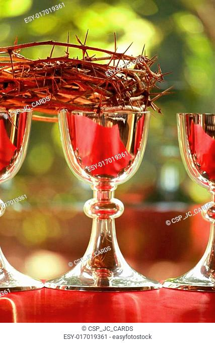 Silver chalices