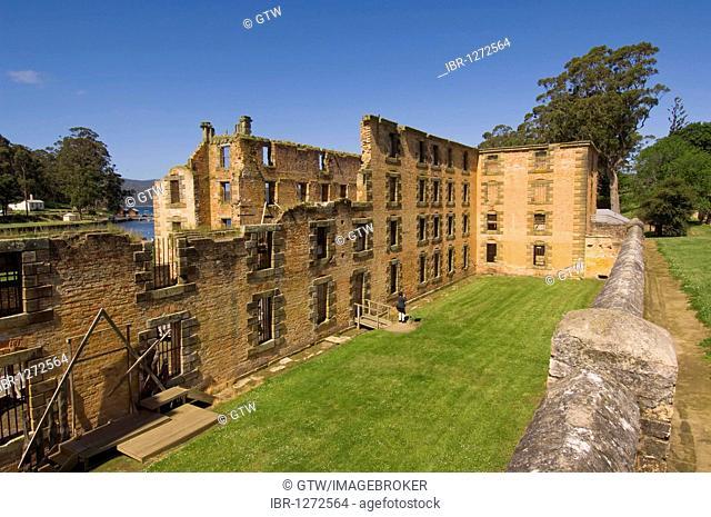 Port Arthur penal colony, prison, Tasmania, Australia