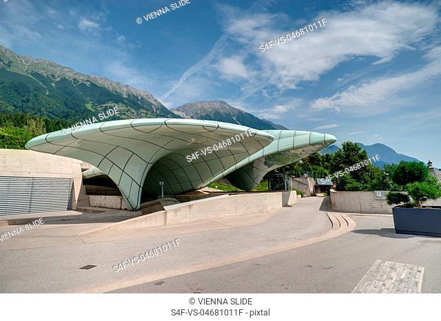 Österreich, Innsbruck, Hungerburgbahnstation