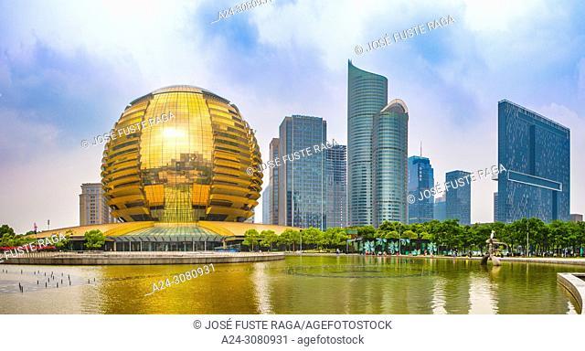 China, Hangzhou City, Jianggan District, Qianjiang New City, Intercontinental Hotel,