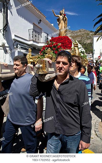 Semana Santa Holy Week Mijas, Andalusia, Spain