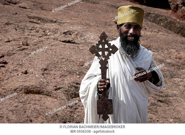 Priest, Coptic Church, Lalibela, Ethiopia