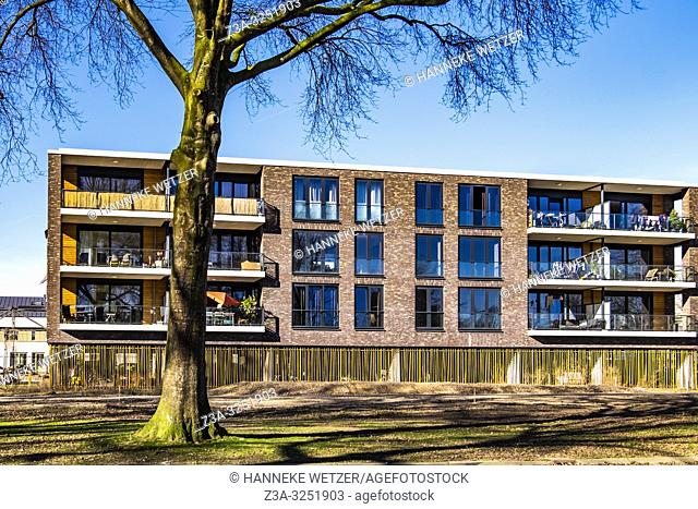 Residential Strijp-R, modern homes on the old factory site Philips, Eindhoven, The Netherlands