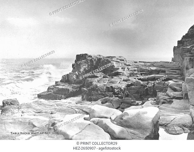 'Table Rocks, Whitley Bay', 1907. Artist: Photochrom Co Ltd of London