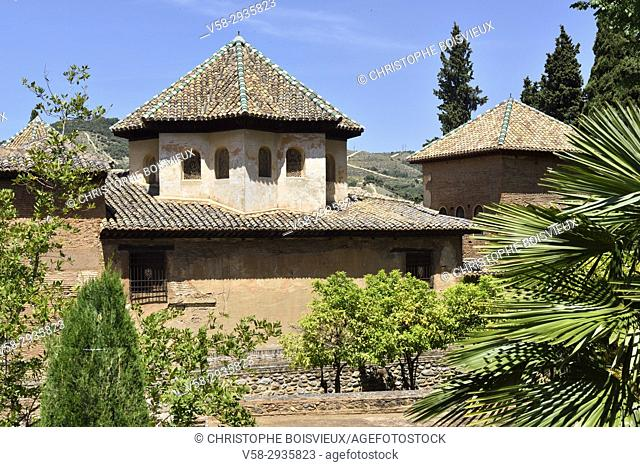Spain, Andalusia, Granada, World Heritage Site, The Alhambra, Palace of Yusuf III