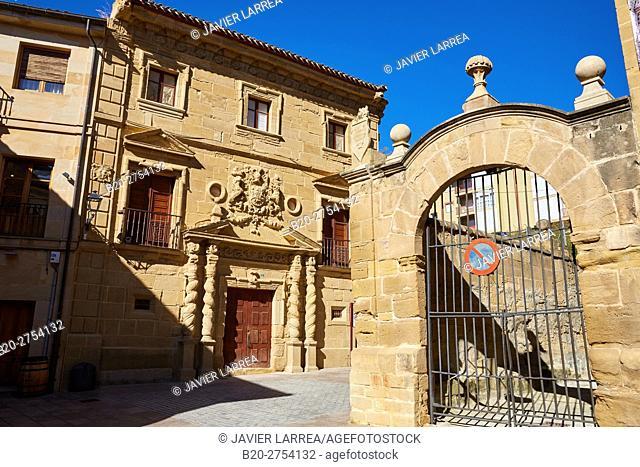 Condes de Haro Palace, Haro, La Rioja, Spain, Europe