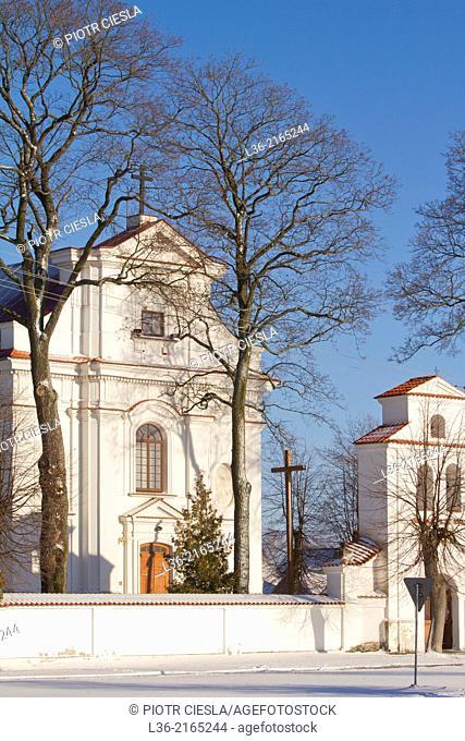 Niemirow. Podlasie region. catholic church