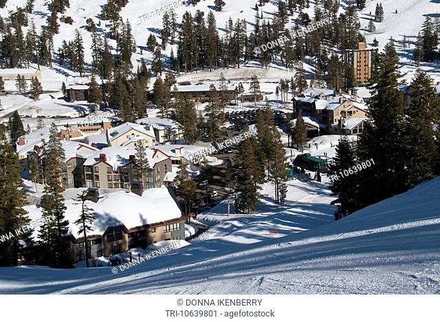 Mountain Village Kirkwood Ski Resort California USA