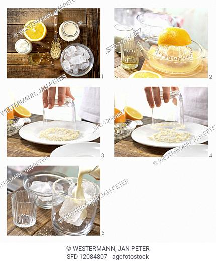 How to prepare almond & yoghurt smoothie