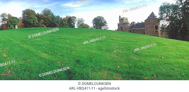 Belgium,Gaasbeek castle