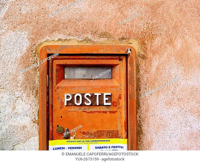 Mailbox of the Italian post