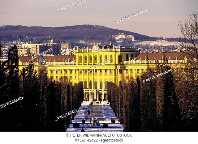 Schönbrunn castle Vienna, Austria, Vienna