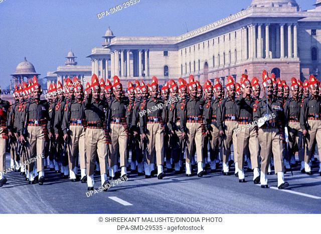 Republic Day  Parade ; Delhi ; India