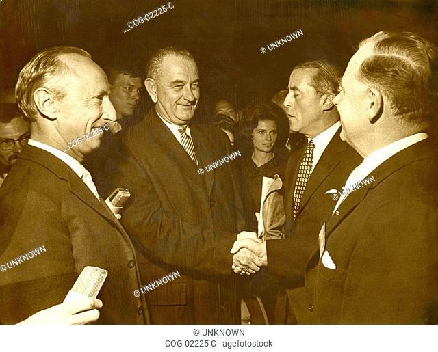 Lyndon Johnson, President, U.S
