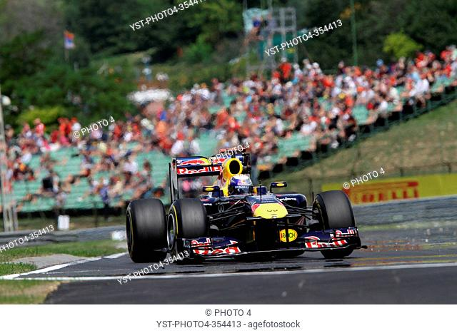 Sebastian Vettel GER, Red Bull Racing, RB7