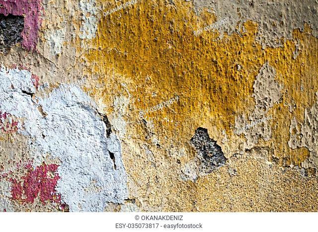 Grunge Cracked Wall Background