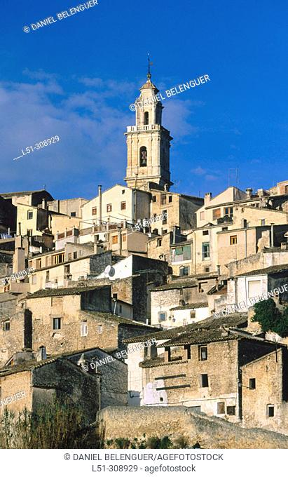Bocairent in Valencia province, Spain