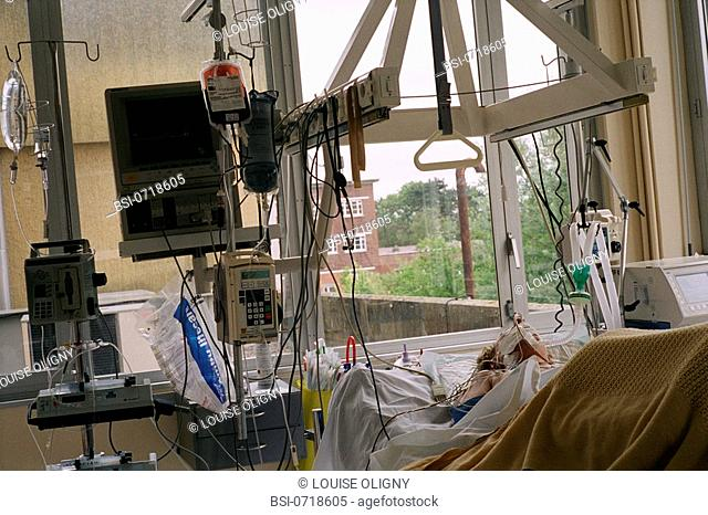 RESUSCITATION<BR>Photo essay from hospital.<BR>Intensive care