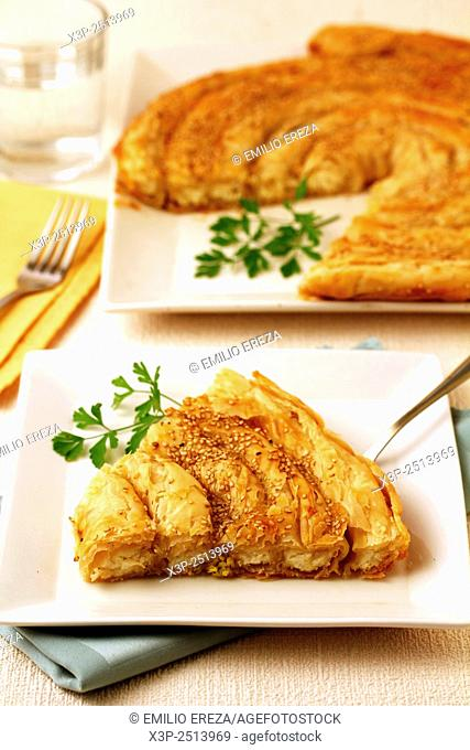 Romanian turnover with cheese