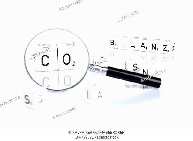 CO2 Bilanz (CO2 balance sheet), German
