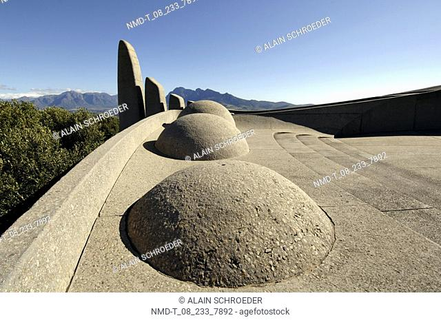 Panoramic view of a monument, Taal Monument, Paarl, Western Cape Province, South Africa