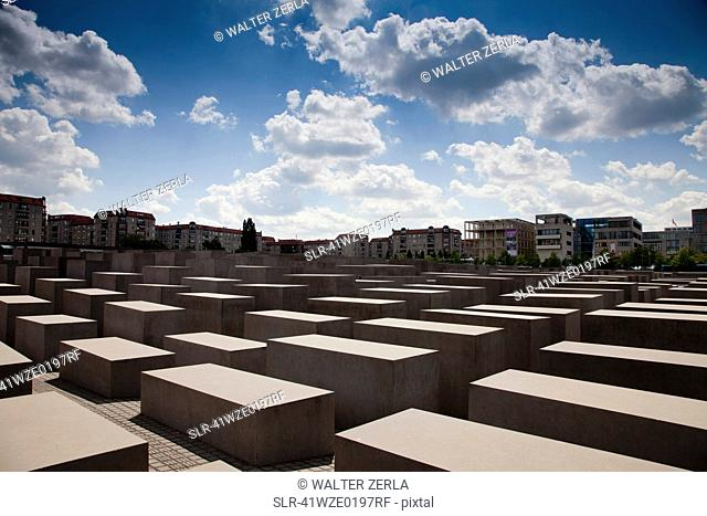 Stock Photo of Memorial To The Murdered Jews Of Europe
