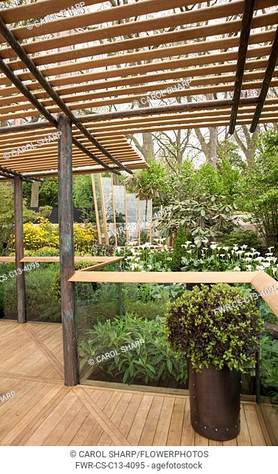 Chelsea Flower Show 2013, East Village garden, Designers Michael Balston and Marie-Louise Agius. Gold medal
