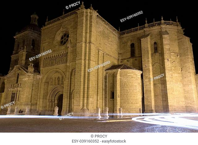 santa maria church is a gothic cathedral located in ciudad rodrigo, in the salamanca province (spain)