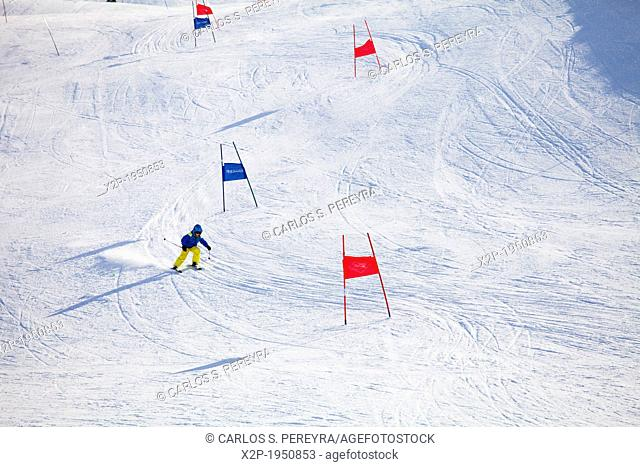 Ski at Kühtai, Innsbruck, Tyrol, Austria, Europe