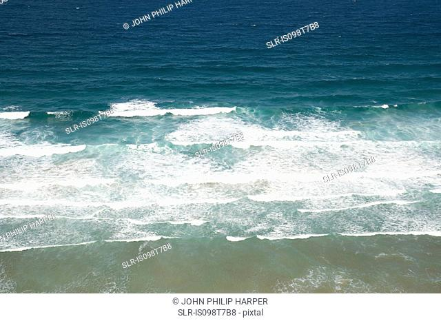 Atlantic ocean off cornwall
