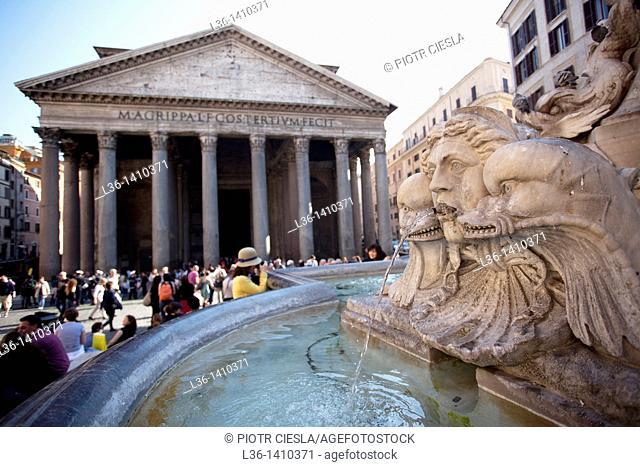 Rome The Pantheon