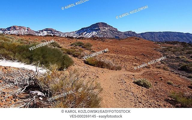 Walking in Parque Nacional del Teide – Teide National Park, Canary Islands, Spain
