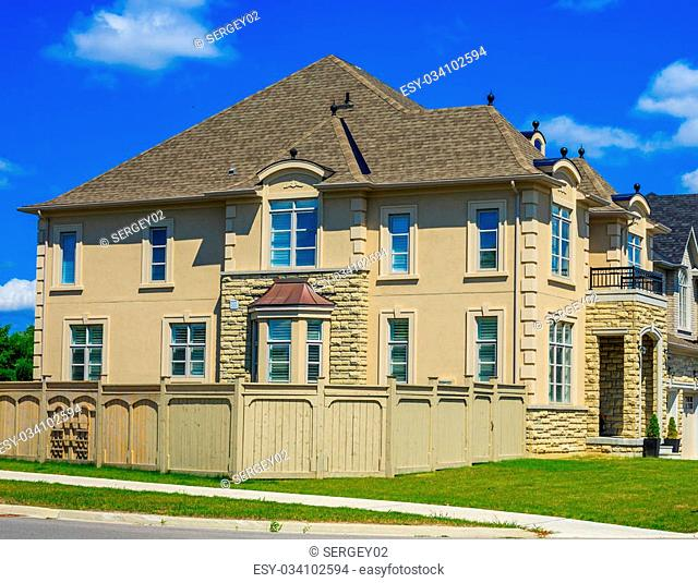 Custom built luxury house in the suburbs of Toronto, Canada