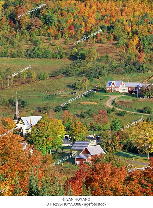New England in Autumn, Vermont, USA