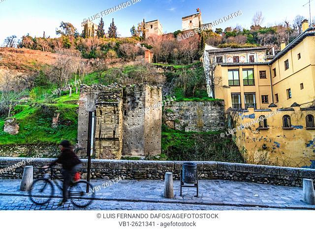 Street scene, Granada, Spain