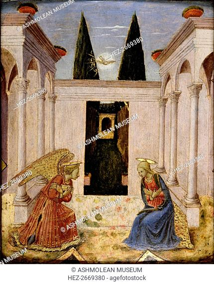 The Annunciation, 15th century
