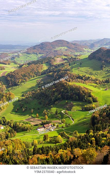 View from Belchenflue, Kanton Solothurn, Switzerland