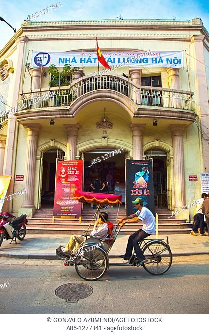Theatre  Old City. Hanoi. Vietnam