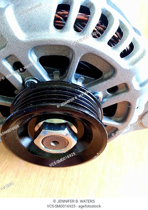 An automobile alternator