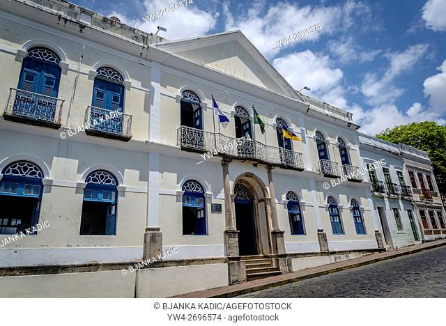 Town Hall, formerly Palace of Governors, Olinda, Pernambuco, Brazil